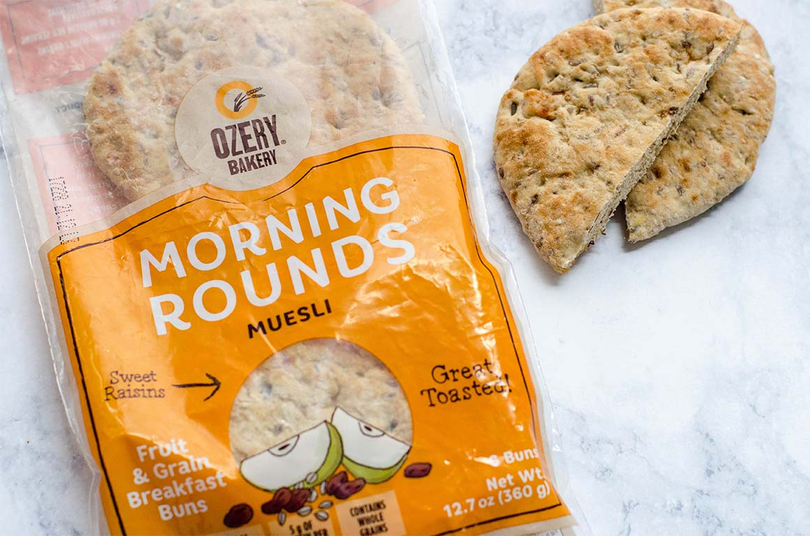Ozery Bakery Morning Rounds, Muesli Flavor